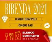 Bibenda 2021, la guida della Fondazione Italiana Sommelier, i 5 grappoli per la Lombardia con un mio piccolo commento vino per vino