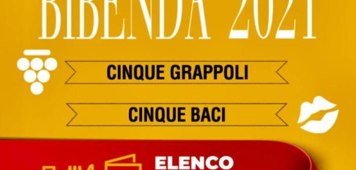 Bibenda 2021, la guida della Fondazione Italiana Sommelier, i 5 grappoli per l'Umbria con un mio piccolo commento vino per vino