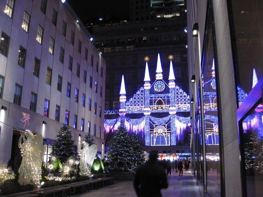sacks fifth avenue new york vetrine di natale di new york