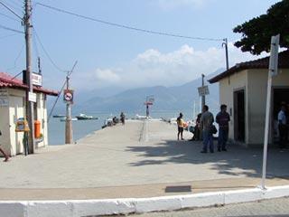 Cais de Mangaratiba - Embarque para Abraão e Palmas