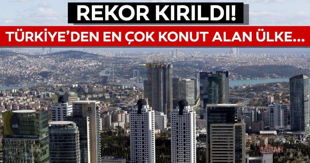 Türkiye'den en çok konut alan ülkeler - Galeri - Ekonomi