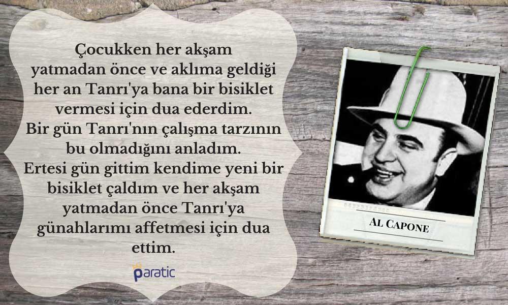 Al Capone Sözleri Çocukluk