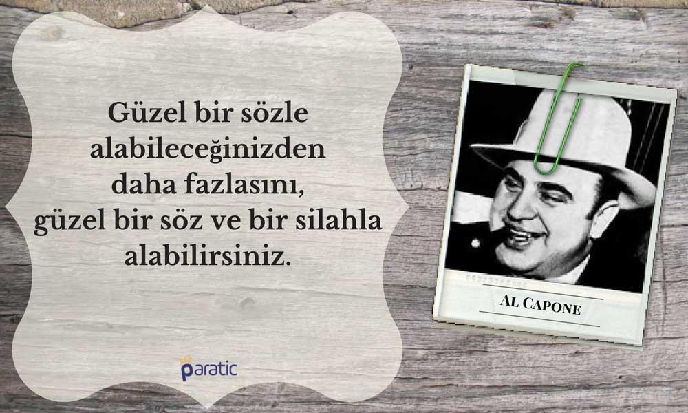 Al Capone Sözleri Gangster