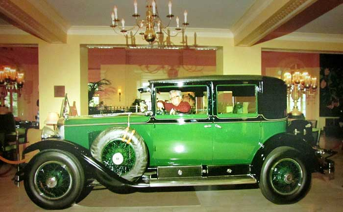 Al Capone'nin Kullandığı Cadillac