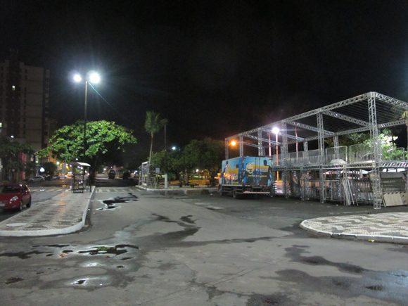 Prefeitura dá últimos retoques na Avenida Soares Lopes, palco do Ilhéus Folia - Foto Marcelo Silveira (2)
