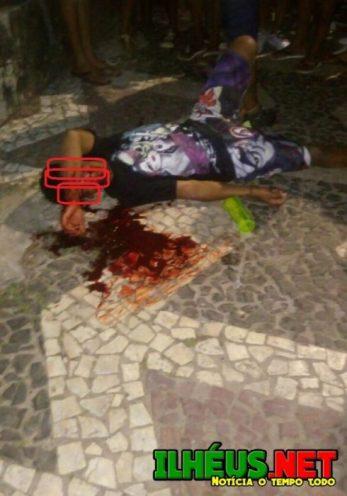 ILHÉUS: Tiros marca festa na Avenida Soares Lopes 3