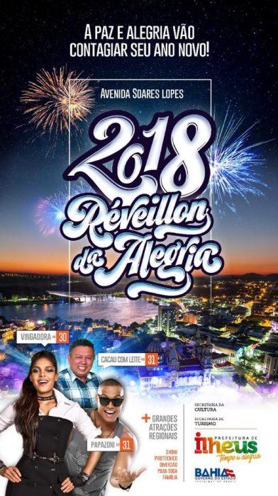 Prefeitura de Ilhéus divulga Bandas Regionais que tocarão no Réveillon 4