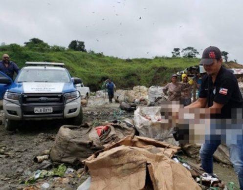 Bebê é encontrado morto em lixão de Itabuna 1