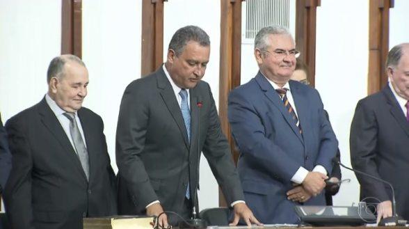 O governador reeleito Rui Costa, do PT, toma posse 4