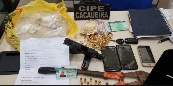 Acusado de vários homicídios é preso em flagrante em Itabuna 6