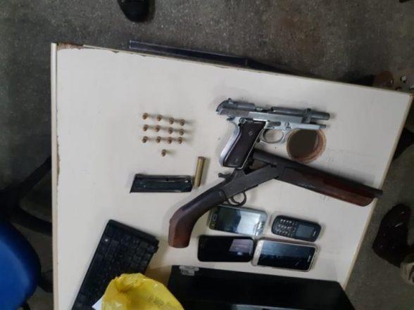 Suspeito é baleado durante troca de tiros em Una 1