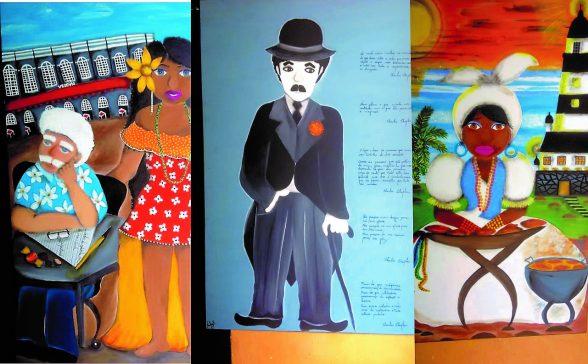 Mesmo em reforma, Teatro Municipal de Ilhéus recebe exposição da artista Nadja Alves 4