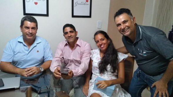 Lideranças do Comitê Sul Bahia Bolsonaro Presidente e Movimento Ilhéus tem jeito se encontram com Deputado Federal Coronel Tadeu (PSL) 3