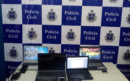 ILHÉUS: Policial Civil apreende material usado para ameaças de ataques em universidades e faculdades 4