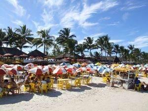 Praia do Sul, conhecida como Praia dos Milionários