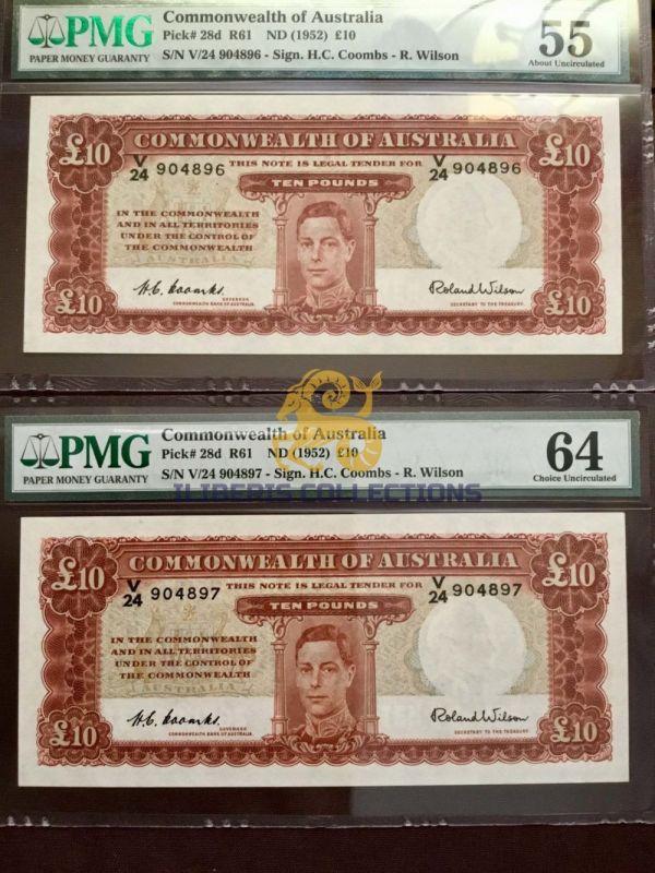 Australia 10 Pounds