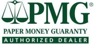 PMG Certificación de billetes: Condiciones de envío y tarifas.