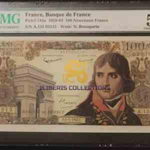 France 100 Nouveaux Francs 1964