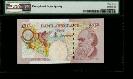 Great Britain 10 Pounds 2012. PMG 67 EPQ.