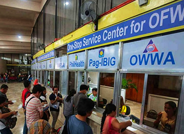 Here's the Step-by-step Procedure for Arriving OFWs at the One-Stop-Shop