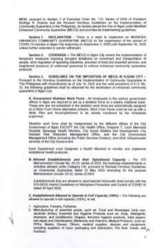 Executive Order (EO) No. 98 (1)