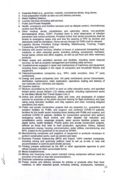 Executive Order (EO) No. 98 (5)