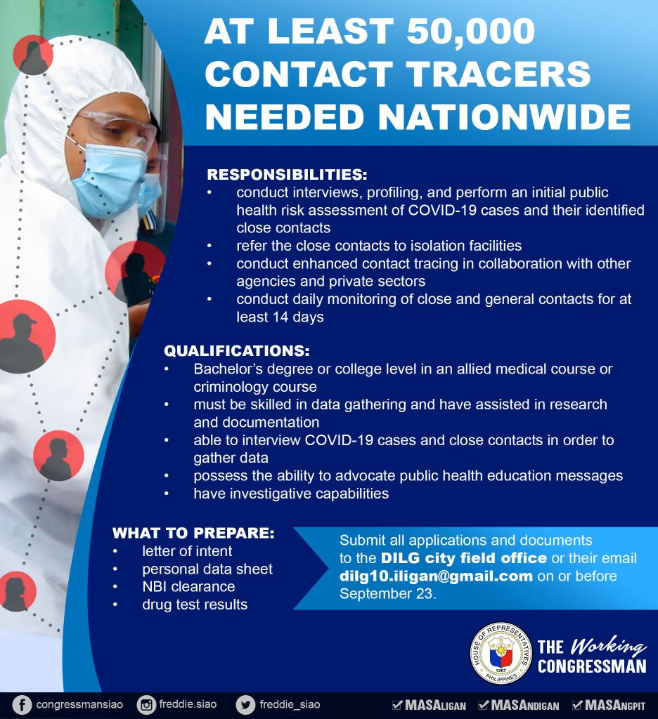 apply contact tracer