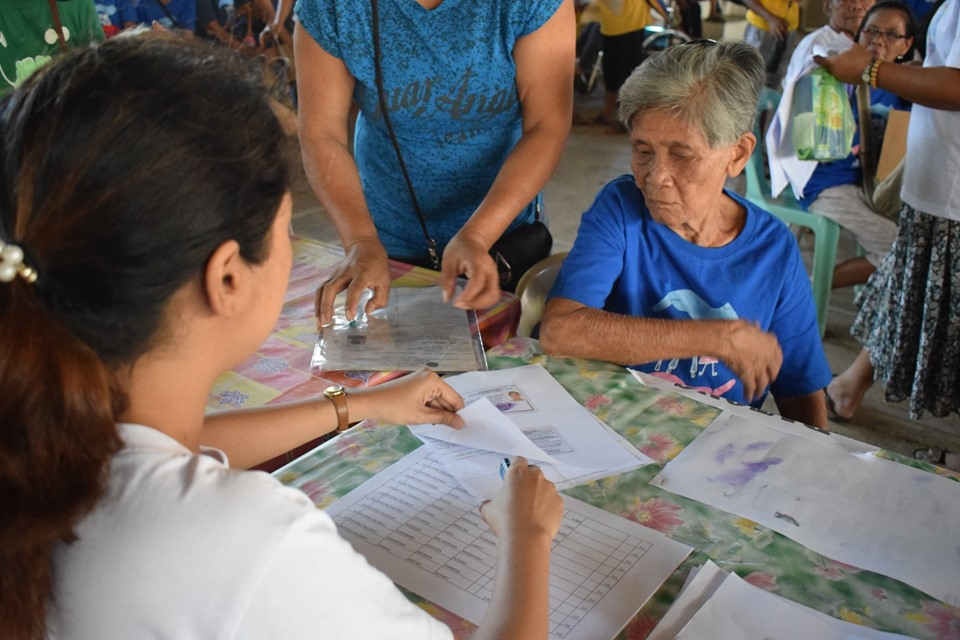 Social Pension Pay-out for the Senior Citizens and number of Beneficiaries