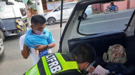 LTFRB Region 10-Iligan City Field Office enforcing team (5)