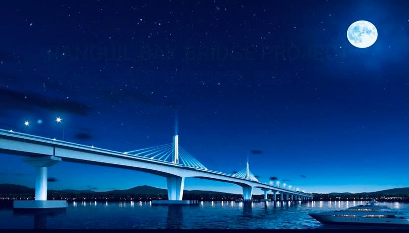 DPWH Works on Foundation of Panguil Bay Bridge (1)