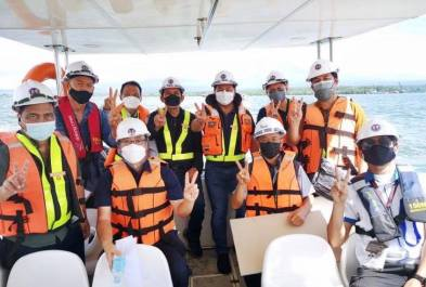 DPWH Works on Foundation of Panguil Bay Bridge (5)