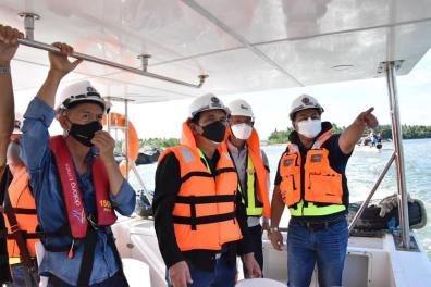 DPWH Works on Foundation of Panguil Bay Bridge (7)
