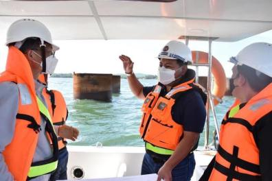 DPWH Works on Foundation of Panguil Bay Bridge (9)
