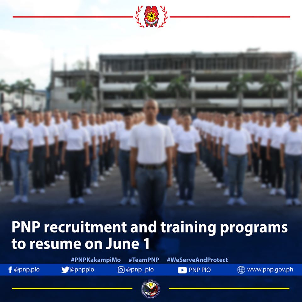 PNP RECRUITMENT & TRAINING PROGRAMS