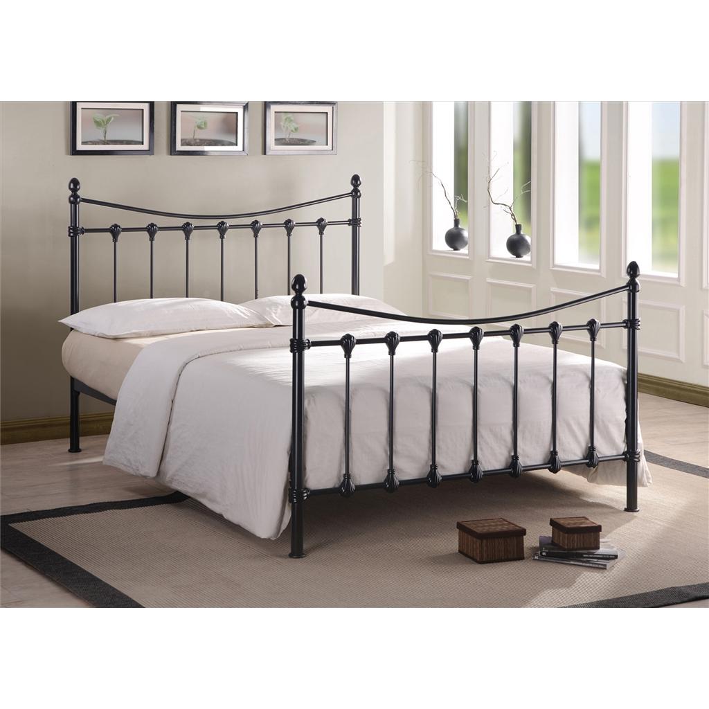 Florida Black Metal Bed Frame