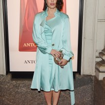 MILAN, ITALY - APRIL 06: Paola Iezzi attends Antonio Croce presents the art of seduction fragrances launch cocktail on April 6, 2018 in Milan, Italy. (Photo by Stefania M. D'Alessandro/Getty Images for Antonio Croce) *** Local Caption *** Paola Iezzi