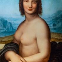 2_In mostra_la copia della Gioconda Nuda di Leonardo