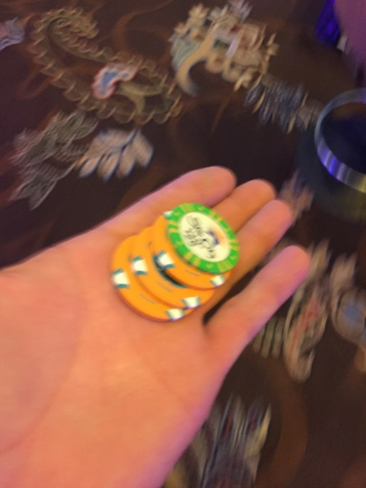 Blurred Lines of $3025. Winnings. Sadly not mine.