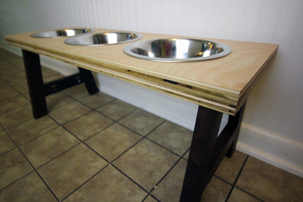 elevated stand large extra bowl single feeder dog pin feeding three dish