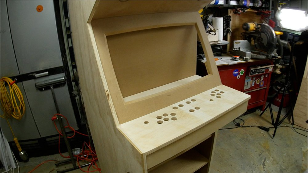 How to make an arcade cabinet - part 1 - I Like to Make Stuff