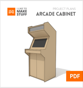 how to make arcade cabinet diy plans