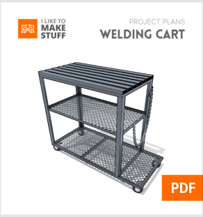 how to make metal working welding table diy plans