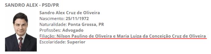 Proprietários no papel da Rádio Mundi FM são pais de Sandro Alex