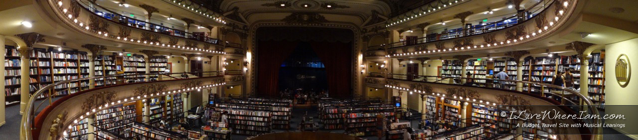 El Ateneo Grand Splendid - Panorama