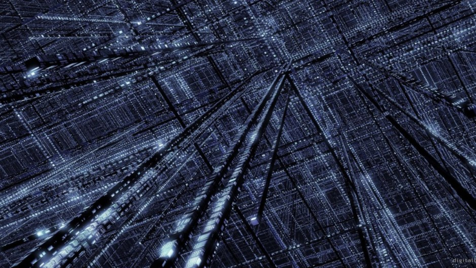 rete algoritmi cyberspazio