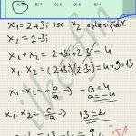 Matematik karmasik sayilarda kokler birbirinin eslenegi durumundadir.