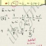 Matematik karmasik sayilar eslenik bulma ve carpmaya gore tersi