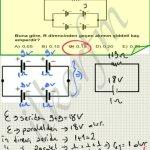 Lys2 2012 fizik 21.soru ve cozum