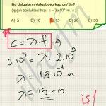Lys2 2012 fizik 27.soru cozum