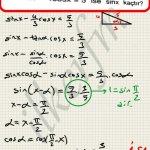 Trigonometri esen yayınları soru çözüm. Trigonometrik denklemler